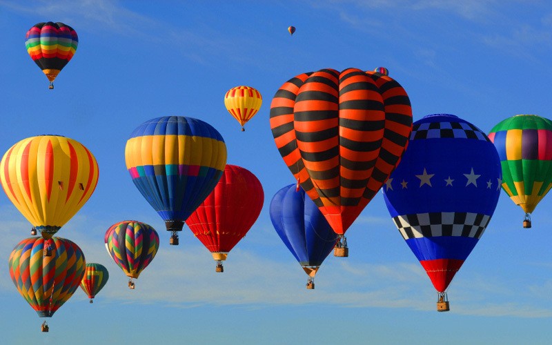 Hot Air Balloon Festival, en Hampden Park