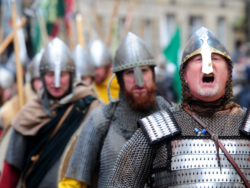 Jorvik Viking Festival, en York