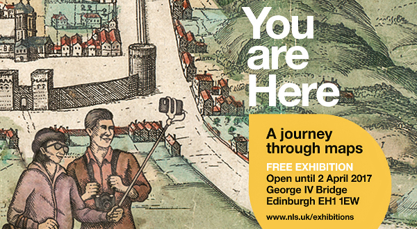 Exposición 'You are here' de Edimburgo