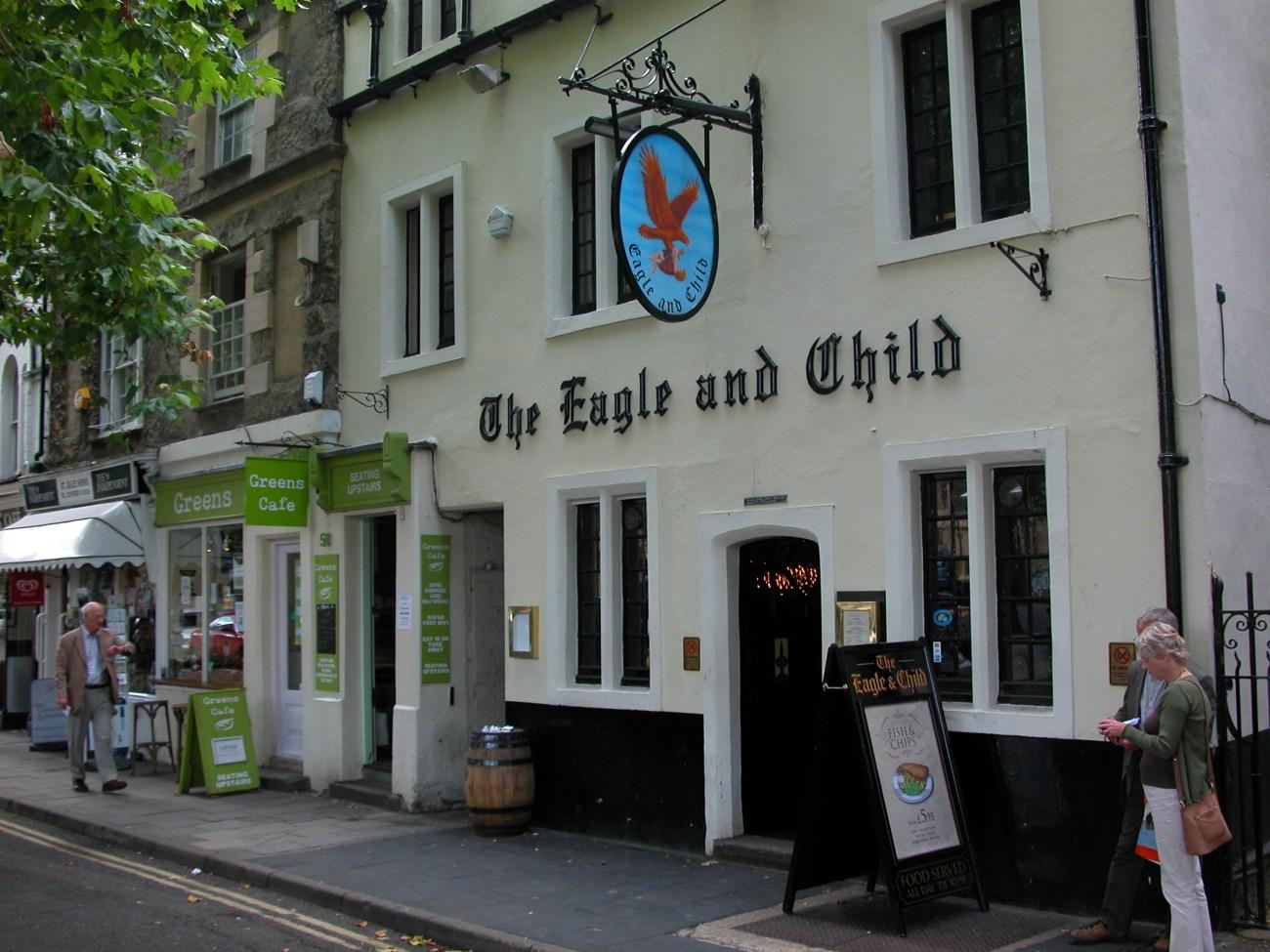 Pub Eagle and Child, en Oxford