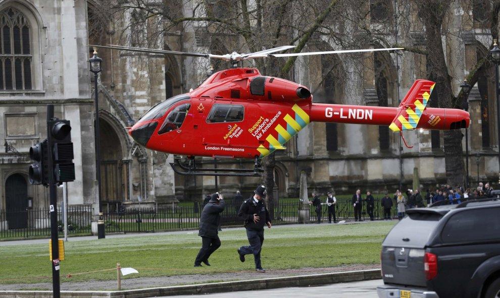 ataque londres helicoptero