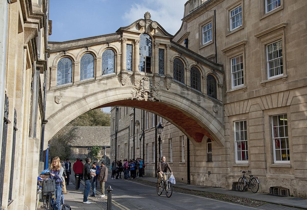Puente de los Suspiros, en Oxford