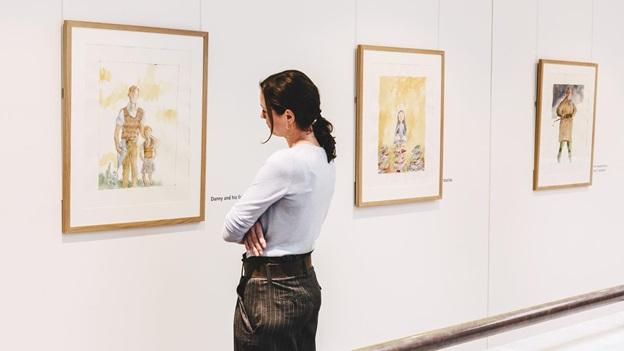 Retratos de Roald Dahl, evento gratuito en Londres