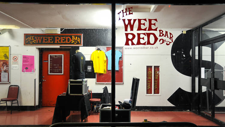 Wee Red Bar, club en Edimburgo