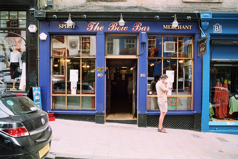 The Bow Bar, en Edimburgo