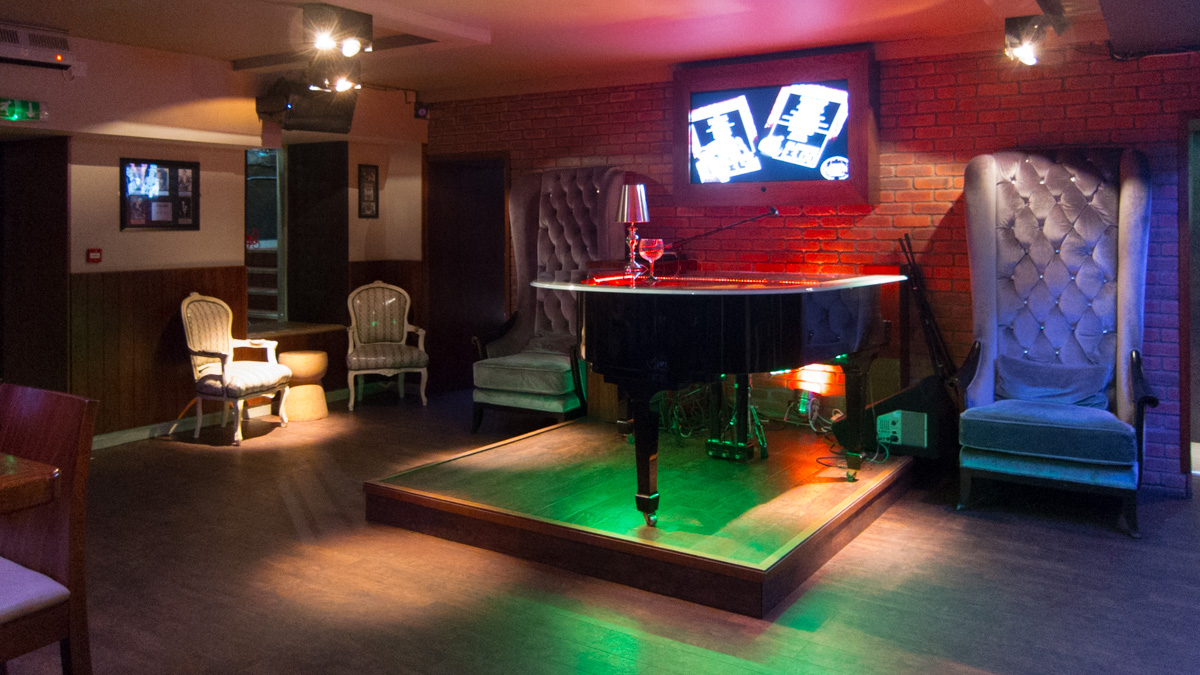 The Rat Pack Piano Bar, en Edimburgo