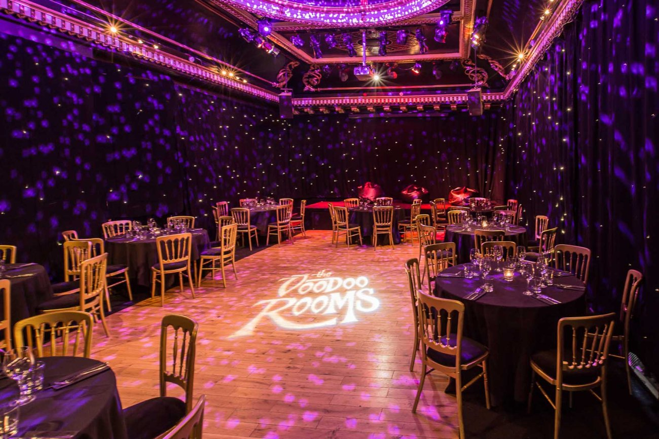 The Voodoo Rooms, club en Edimburgo