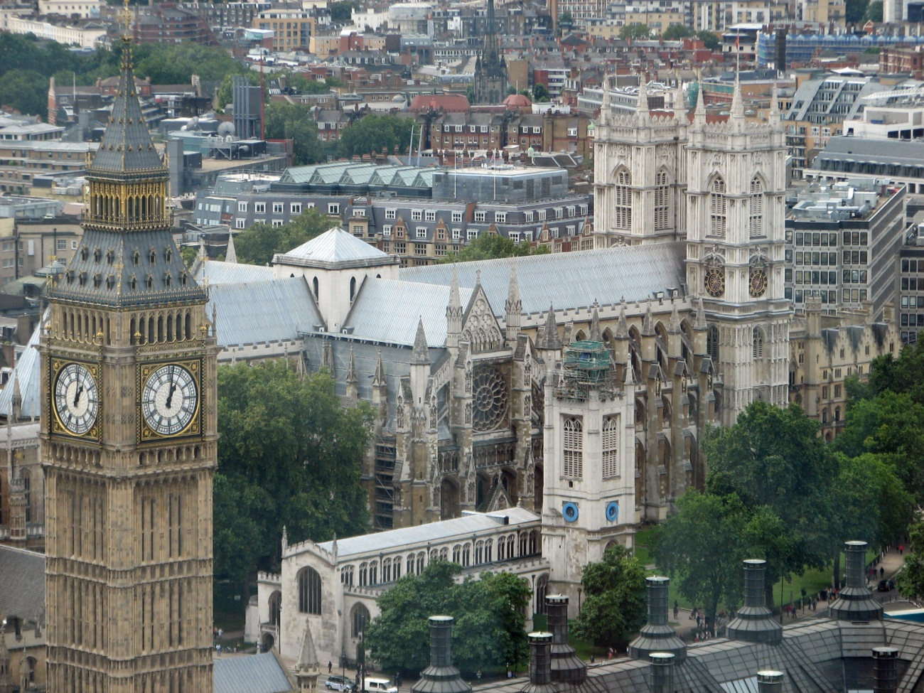 Bigben & Westminster Abbey