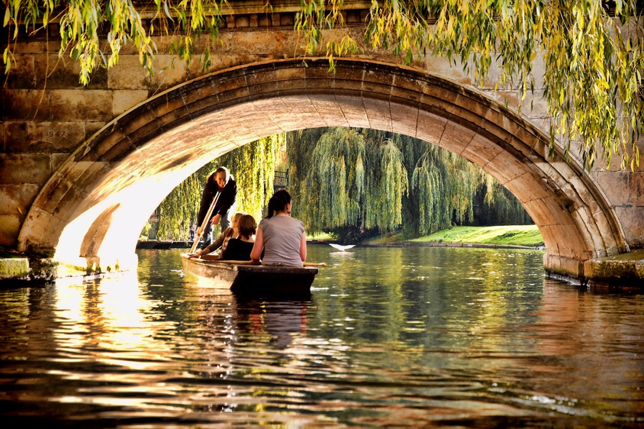Río Camb, en Cambridge