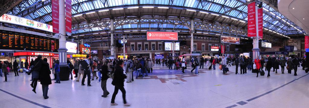 Estación de Victoria en Londres