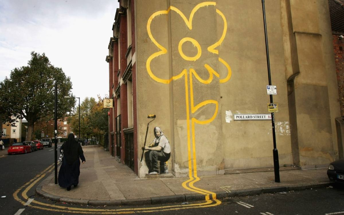 ¿Dónde encontrar los graffitis de Banksy? - Mapa con todos los murales aún visibles en Inglaterra