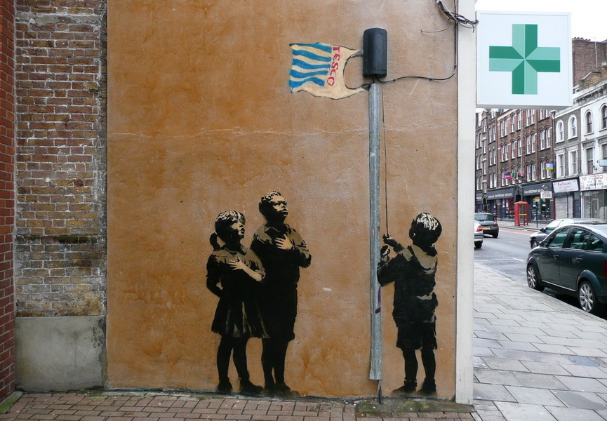 Very Little Helps Banksy
