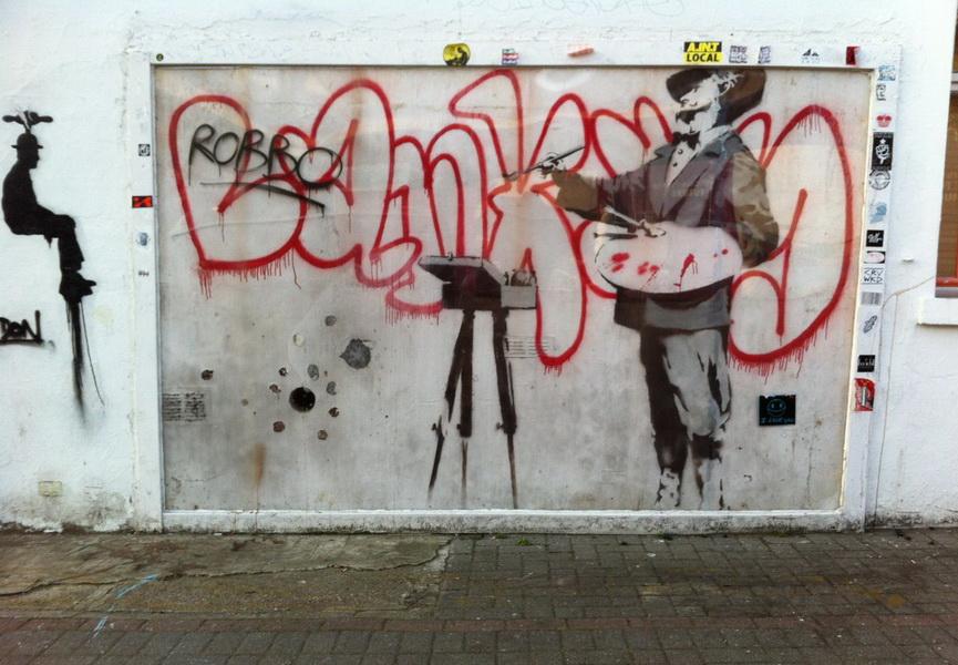 Graffiti Painter Banksy