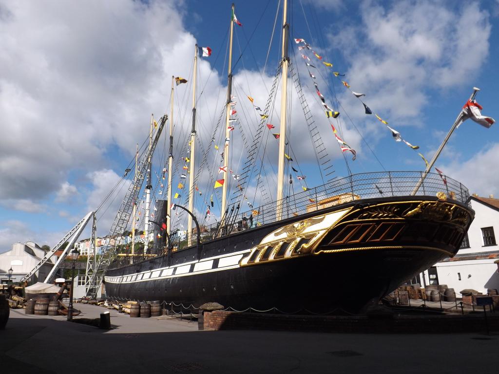 El transatlántico SS Great Britain, creado por Brunel