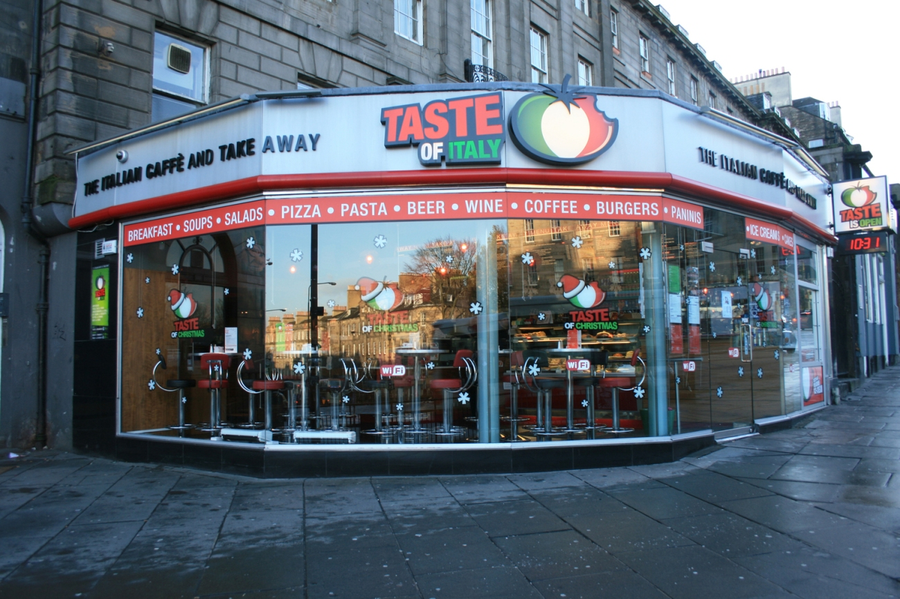Taste of Italy, Edimburgo