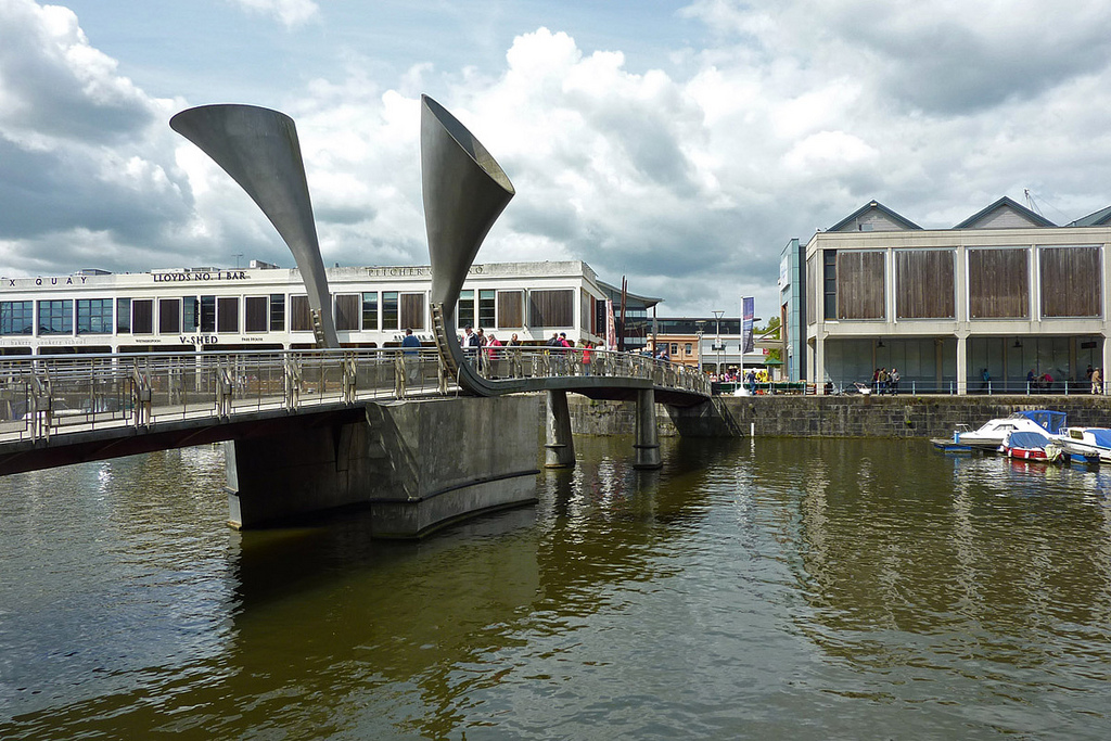 Pero's Bridge, Harbourside, Bristol