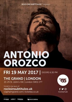 Antonio Orozco en Londres