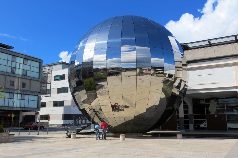El planetario de Bristol, en Millennium Square