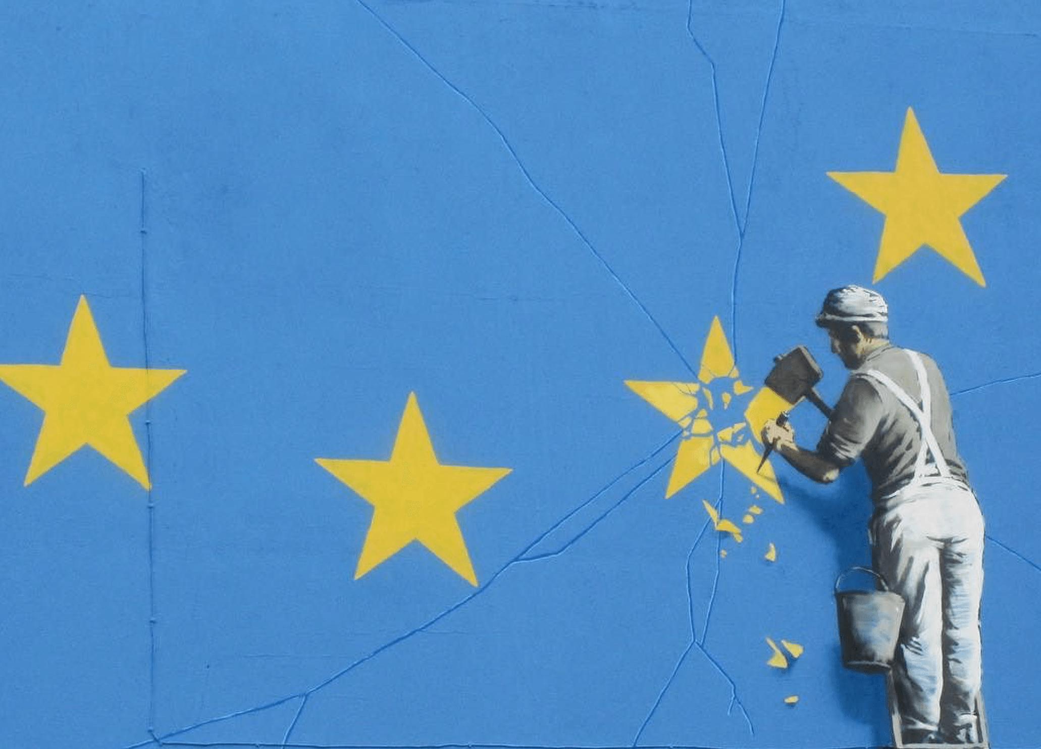 Dover Banksy mural BREXIT