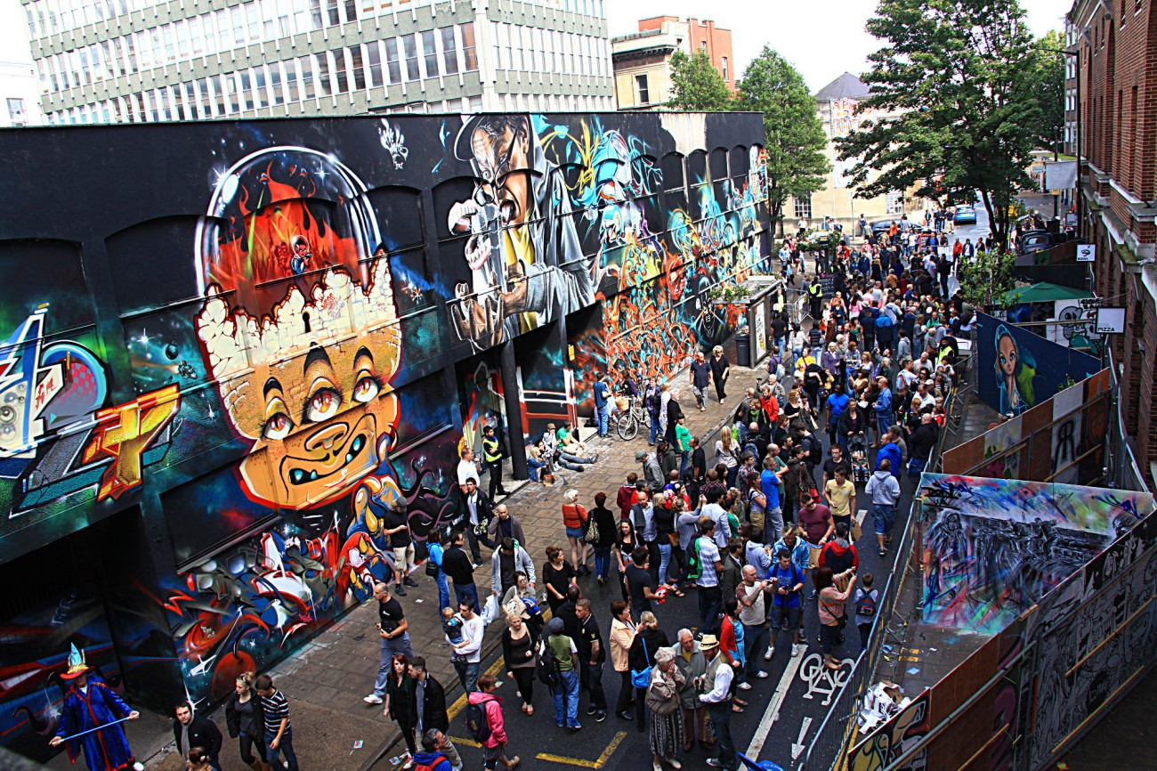 Bristol - Graffitti Festival See No Evil