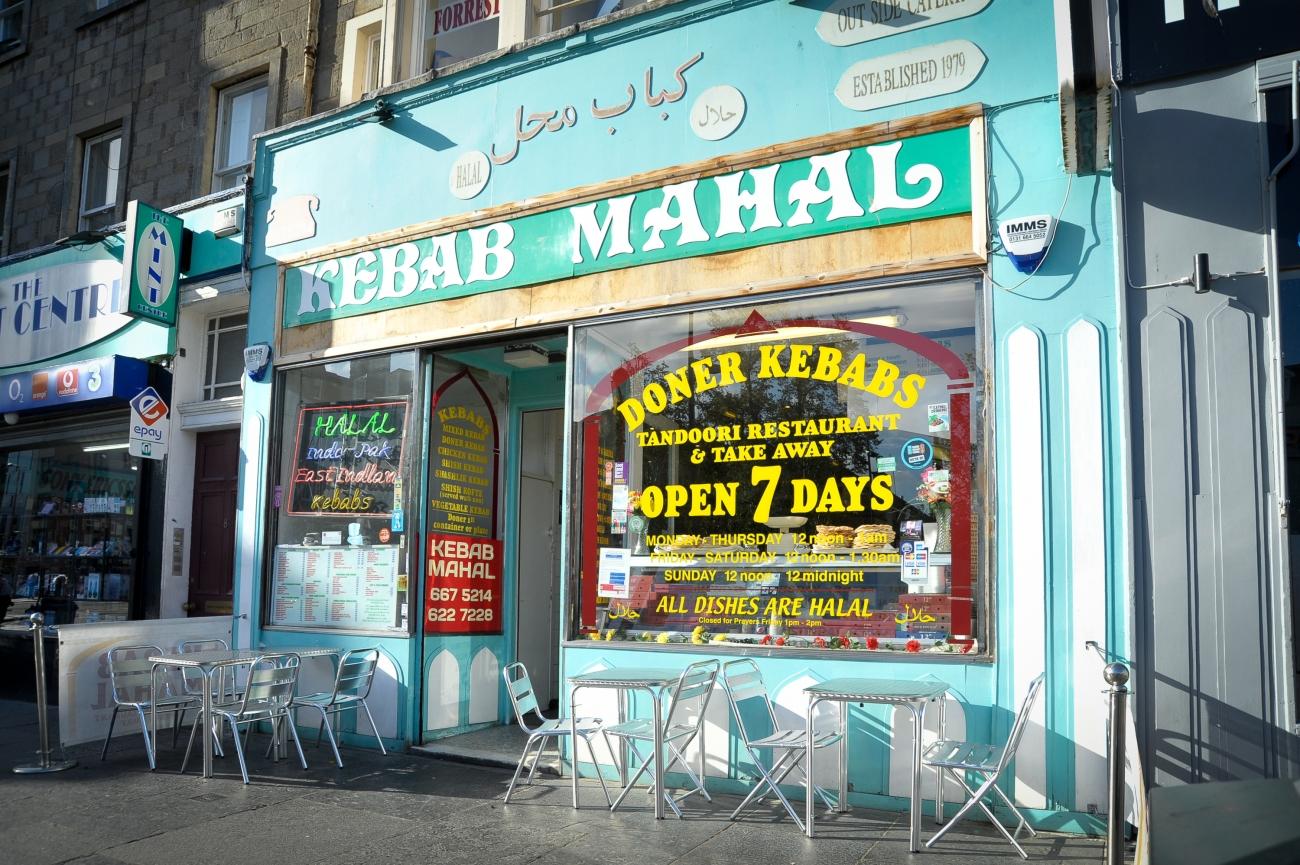 Kebab Mahal, Edimburgo