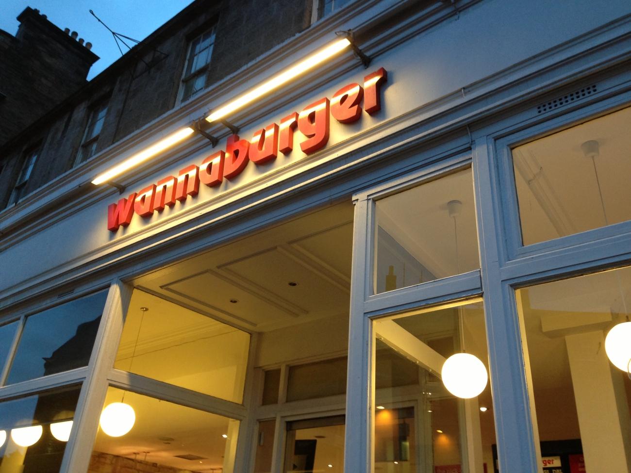 Wannaburger, Edimburgo