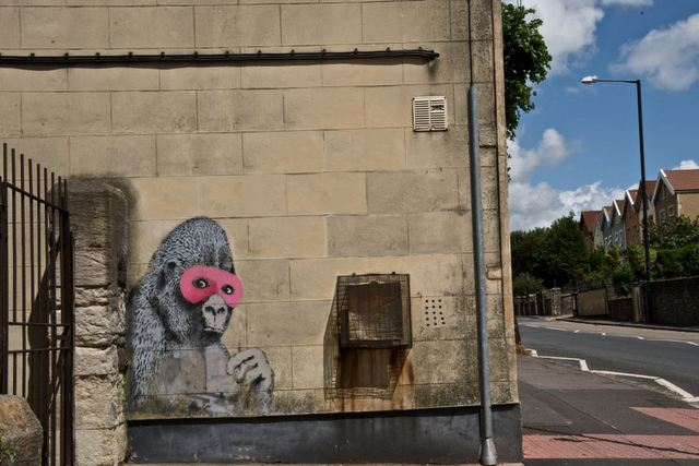 Masked Gorilla - Fishponds Rd, Easton