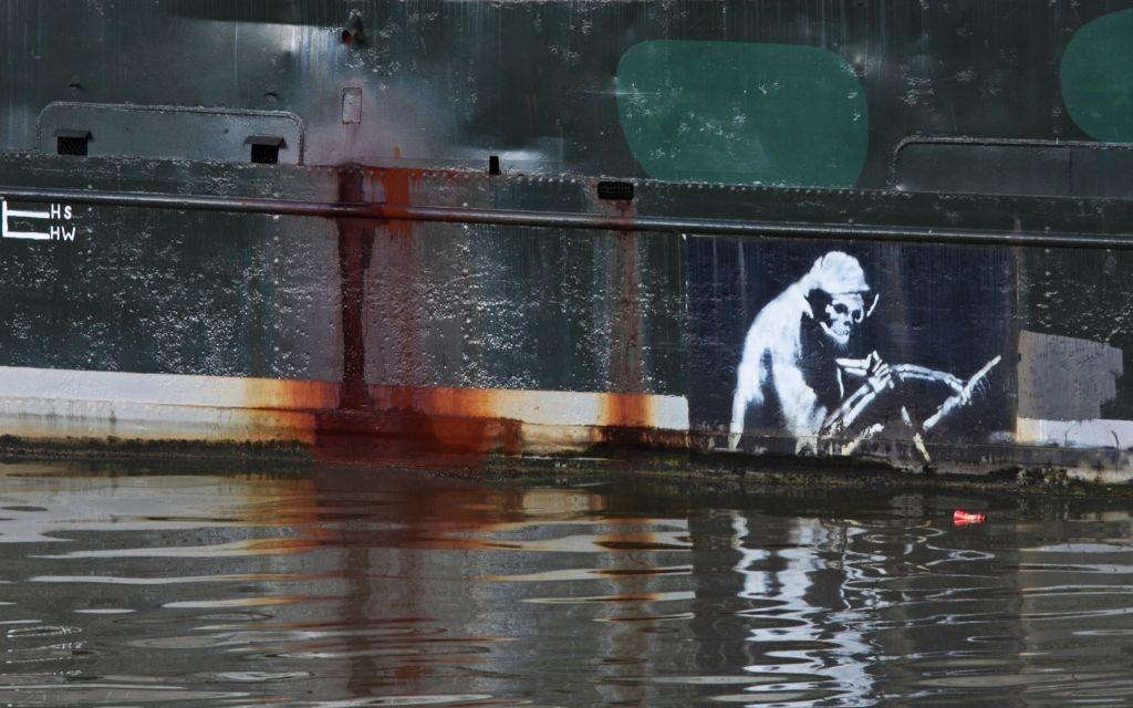 Grim Reaper, Bristol Thekla Banksy