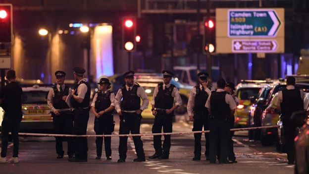 London Van Attack Mosque
