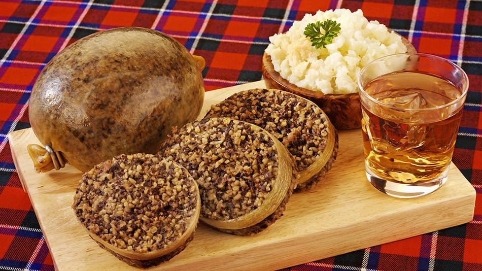 El 'haggis', plato tradicional escocés