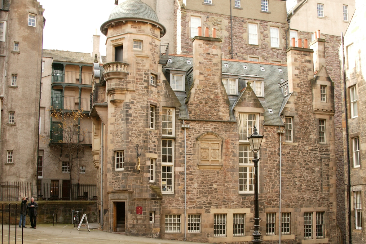 The Writers' Museum, en Edimburgo