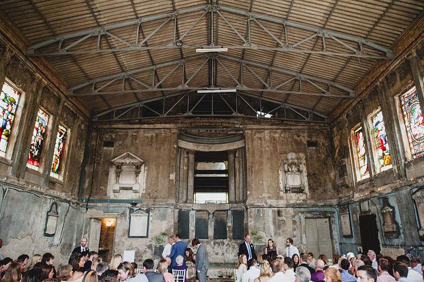 Asylum es una antigua iglesia de Londres reconvertido en espacio para las artes