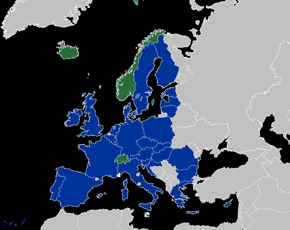 Mapa Cobertura Tarjeta Sanitaria Europea