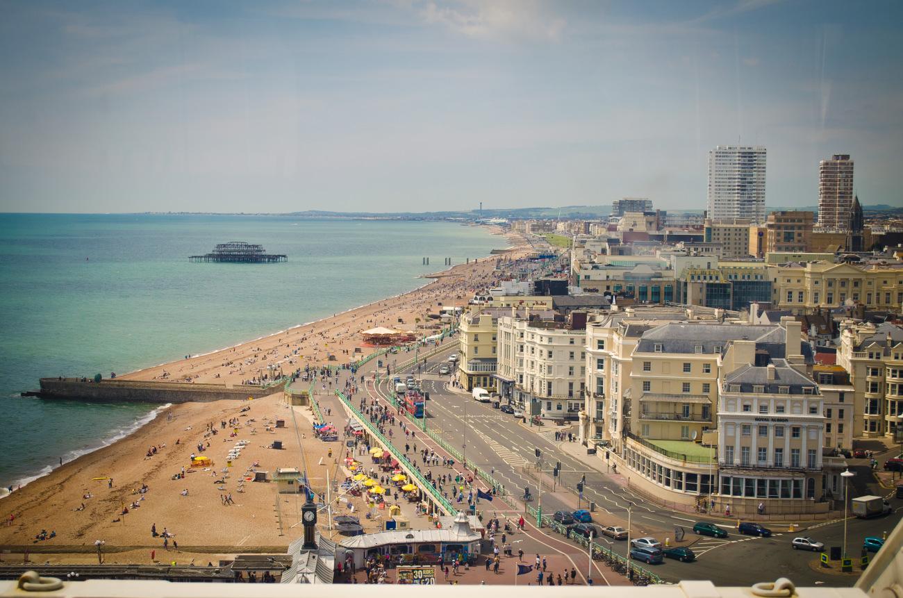 Brighton es una ciudad costera