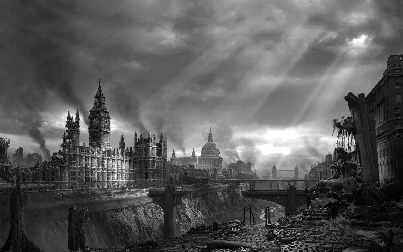 london-ruins