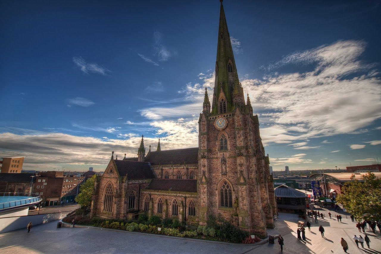 Iglesia de St Martin, en Birmingham