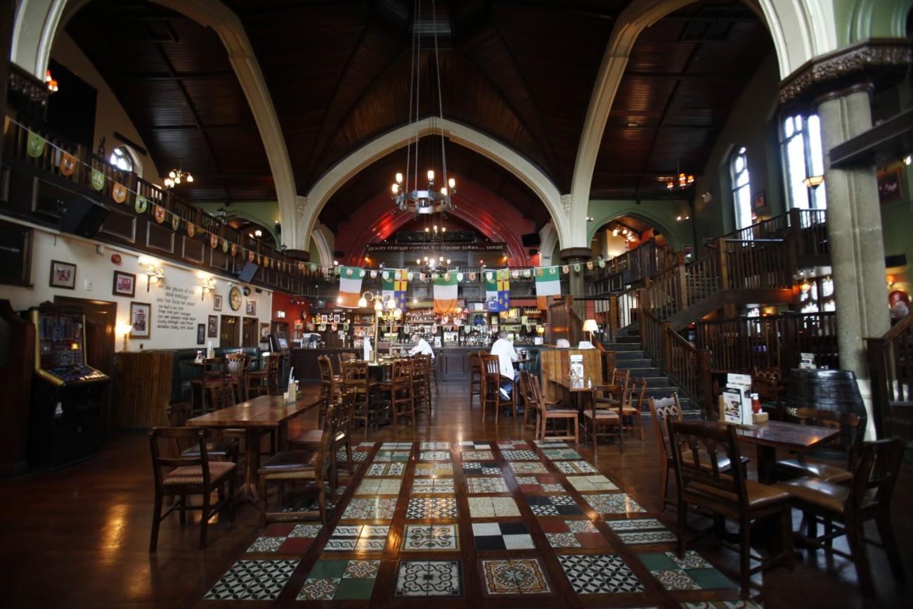 O'Neill's, una iglesia de Londres que ahora es un pub