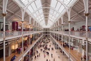 Museo Nacional de Escocia, en Edimburgo