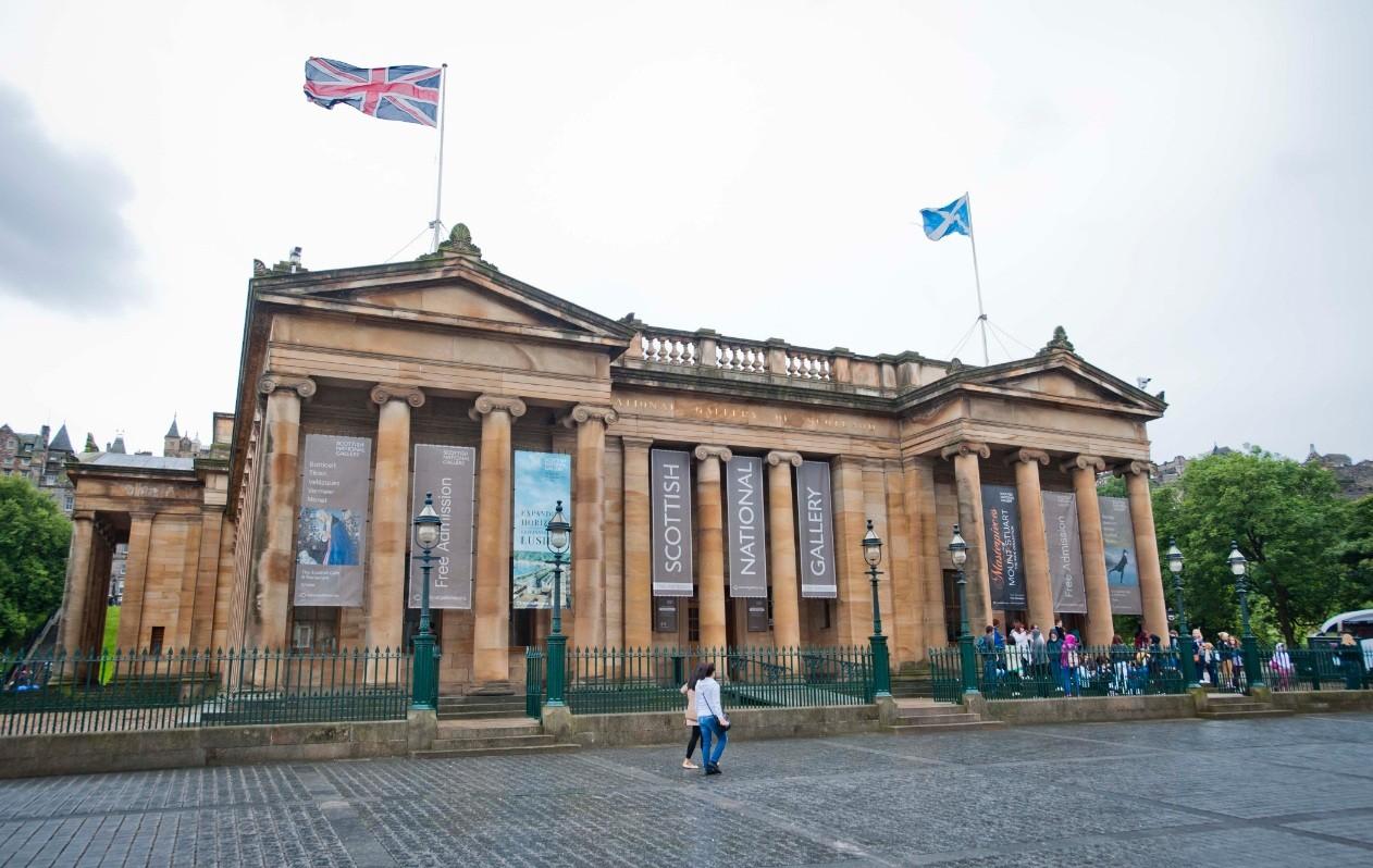 La Galería Nacional Escocesa, en Edimburgo