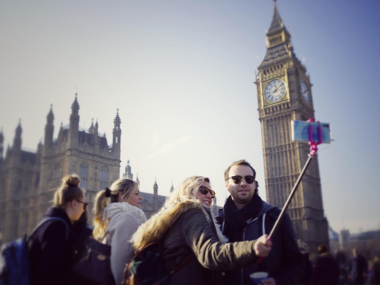 Selfie London Big Ben