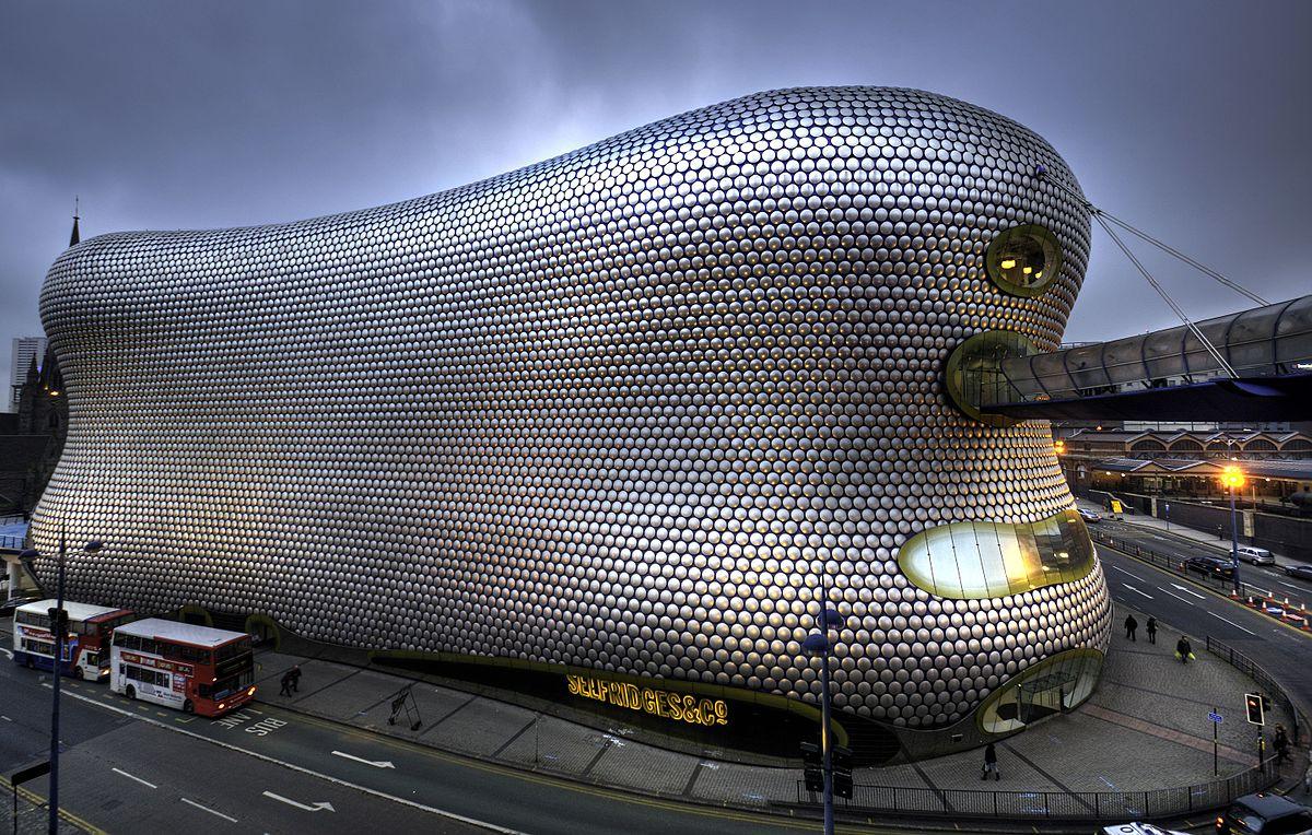 Selfridges es un centro comercial de Birmingham