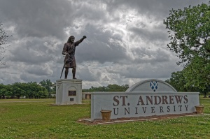 St Andrews University by Allen Forrest