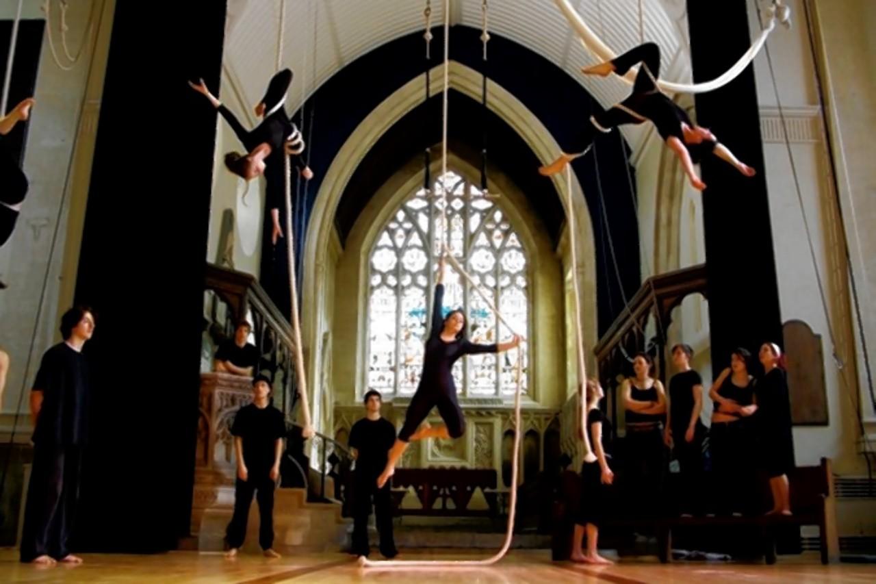 St Paul's Church, en Bristol, es un centro circense