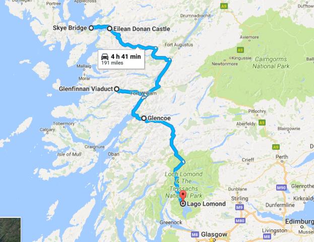 Viaje a Isla de Skye